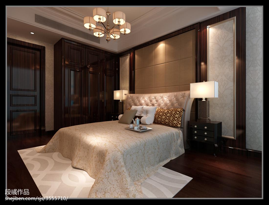 大小97平欧式三居卧室欣赏图片