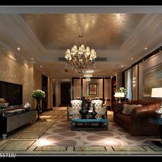 精选102平方三居客厅欧式装修图片大全