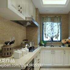热门现代复式厨房装修设计效果图片大全