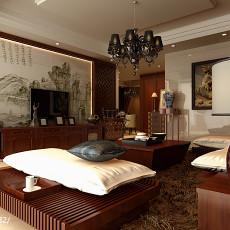 热门面积138平别墅客厅新古典装修欣赏图片大全