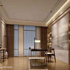 热门111平米现代别墅书房装修欣赏图片大全