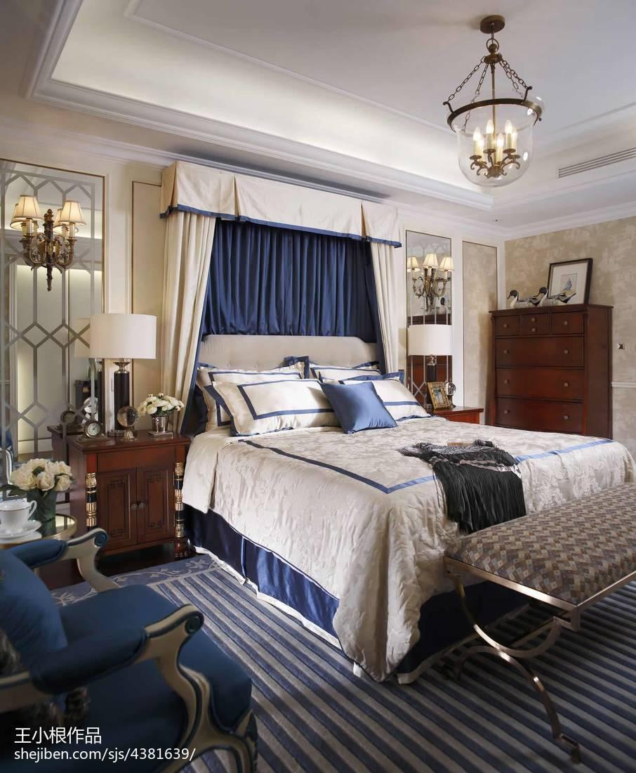 热门欧式卧室效果图片大全