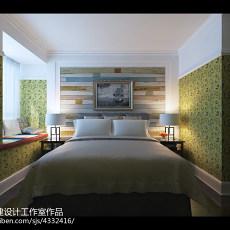 精选73平米二居卧室美式装修设计效果图片大全