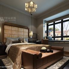 热门面积140平复式卧室中式欣赏图片大全