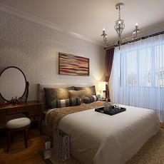 热门大小93平欧式三居卧室装修效果图片大全