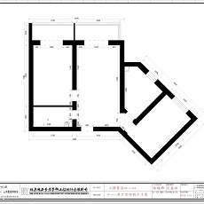 2018精选78平米二居卫生间现代装饰图