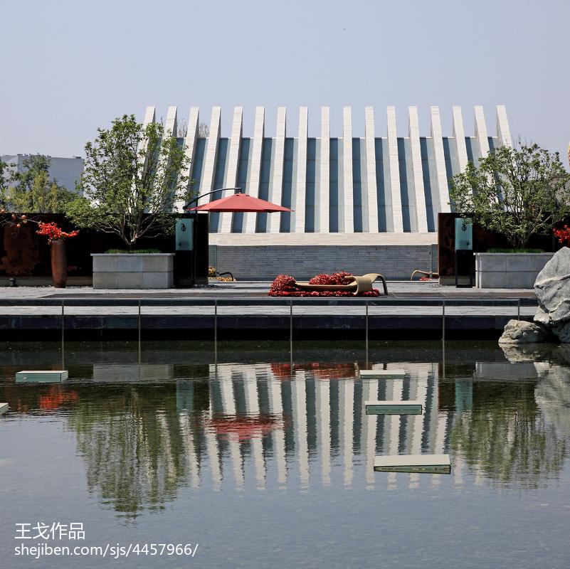 中式客厅效果图片