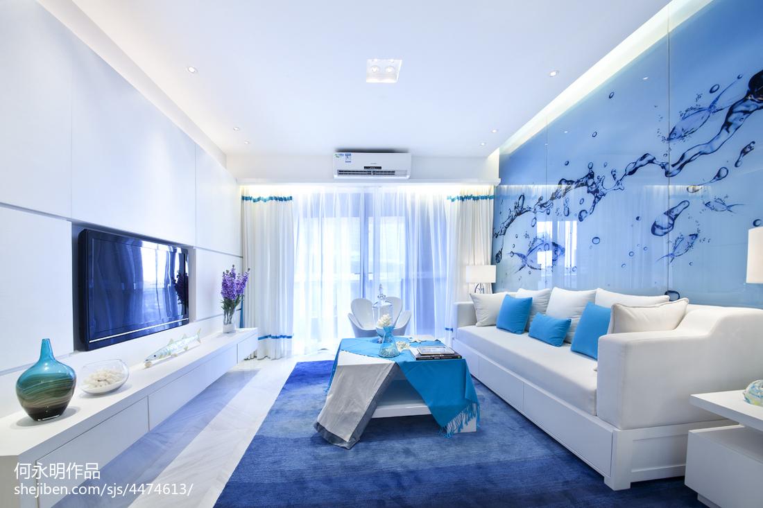 精美现代客厅装修实景图片大全