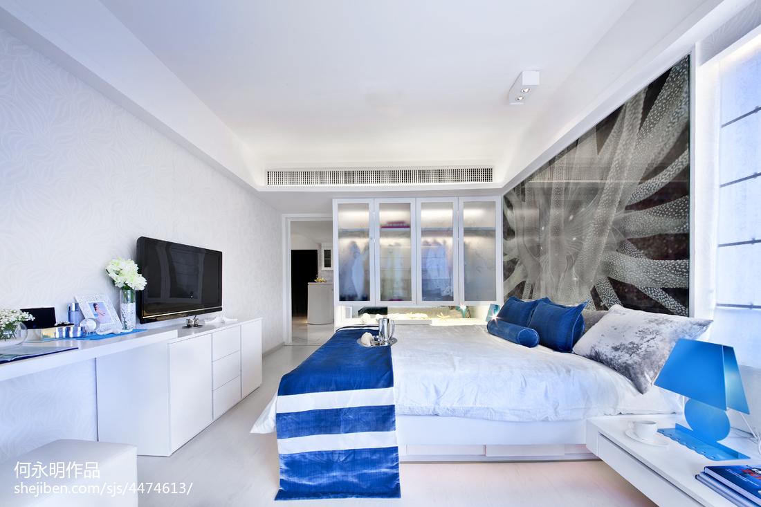 97.5平精选现代卧室装修效果图片