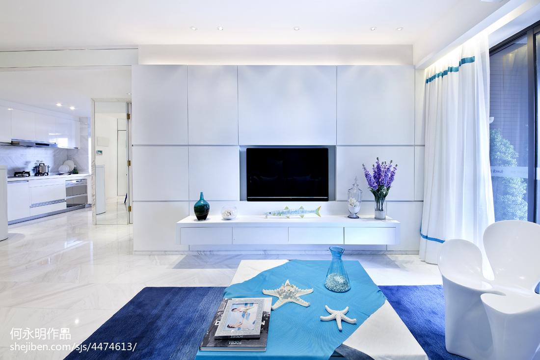 88.0平精选客厅现代装修设计效果图片欣赏