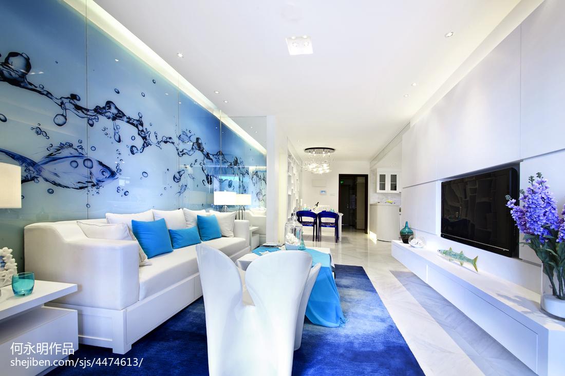 精美现代客厅装修设计效果图片