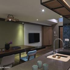 2018精选面积92平现代三居厨房设计效果图