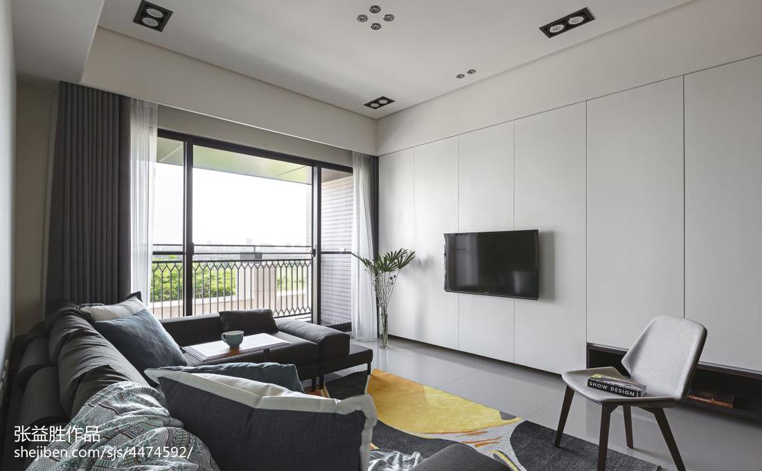 2018121平米四居客厅现代欣赏图片大全