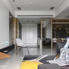 精选114平米四居客厅现代装饰图片