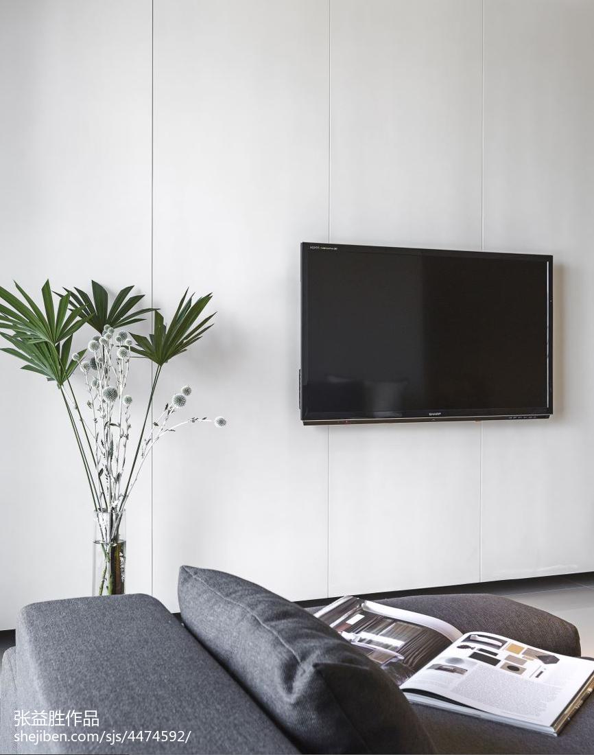 热门115平米四居客厅现代装修设计效果图