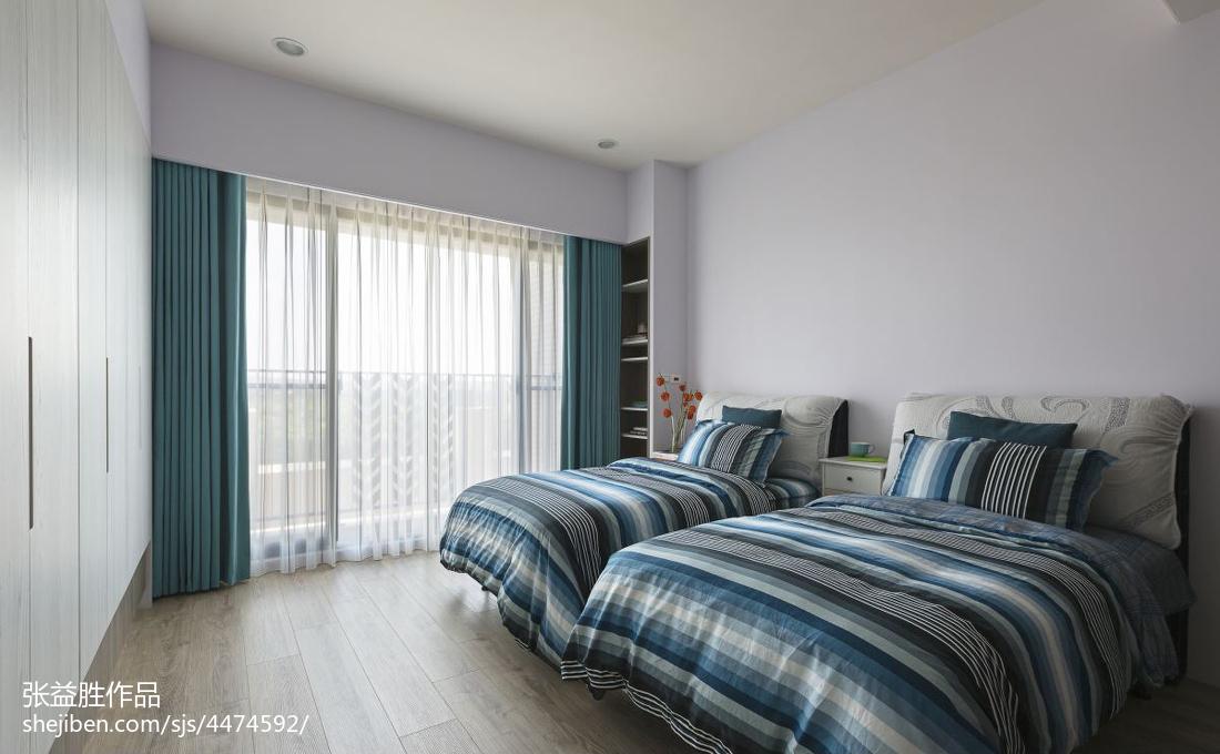 精选面积138平现代四居卧室实景图片大全