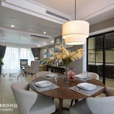 精美面积141平美式四居餐厅装修图片欣赏
