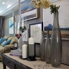 精美111平米四居客厅美式效果图片欣赏