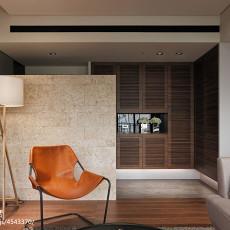 三居现代客厅鞋柜装修效果图