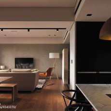 热门107平客厅三居现代效果图片欣赏