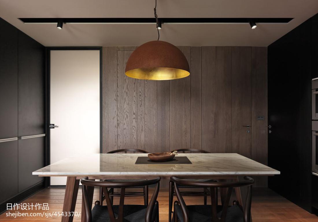 精美101平米三居餐厅现代装修实景图