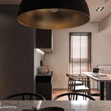 精美面积90平现代三居餐厅装修实景图片大全