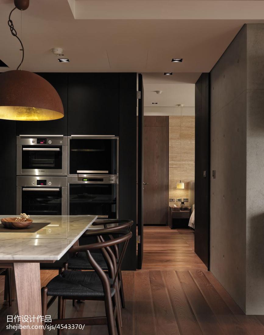 精选103平方三居餐厅现代装修图片