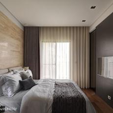 热门102平米三居卧室现代装修效果图片大全