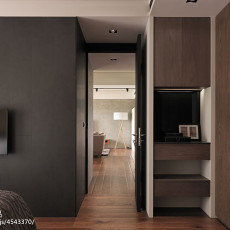 精选面积97平现代三居卧室装修实景图