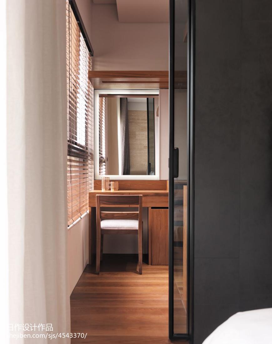 2018面积90平现代三居卧室装修设计效果图