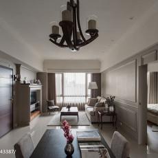 99平方三居客厅美式装修欣赏图片大全