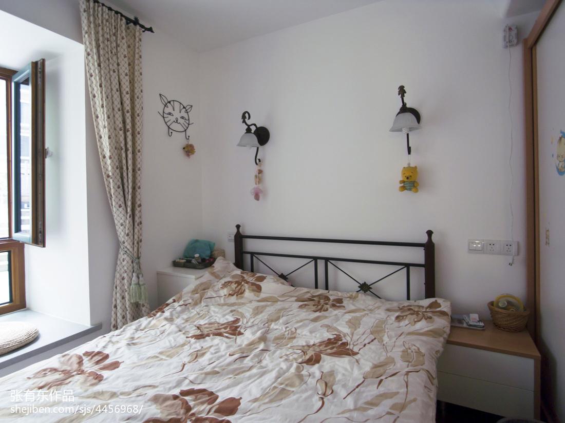 典雅68平地中海二居卧室装修装饰图