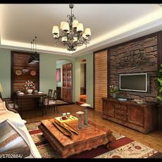 美式小户型客厅效果图