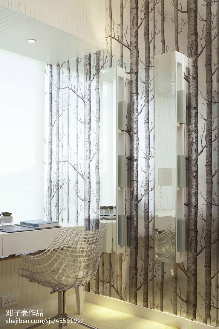 2018精选现代书房装修效果图片欣赏