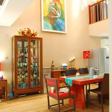 热门大小144平别墅餐厅现代实景图