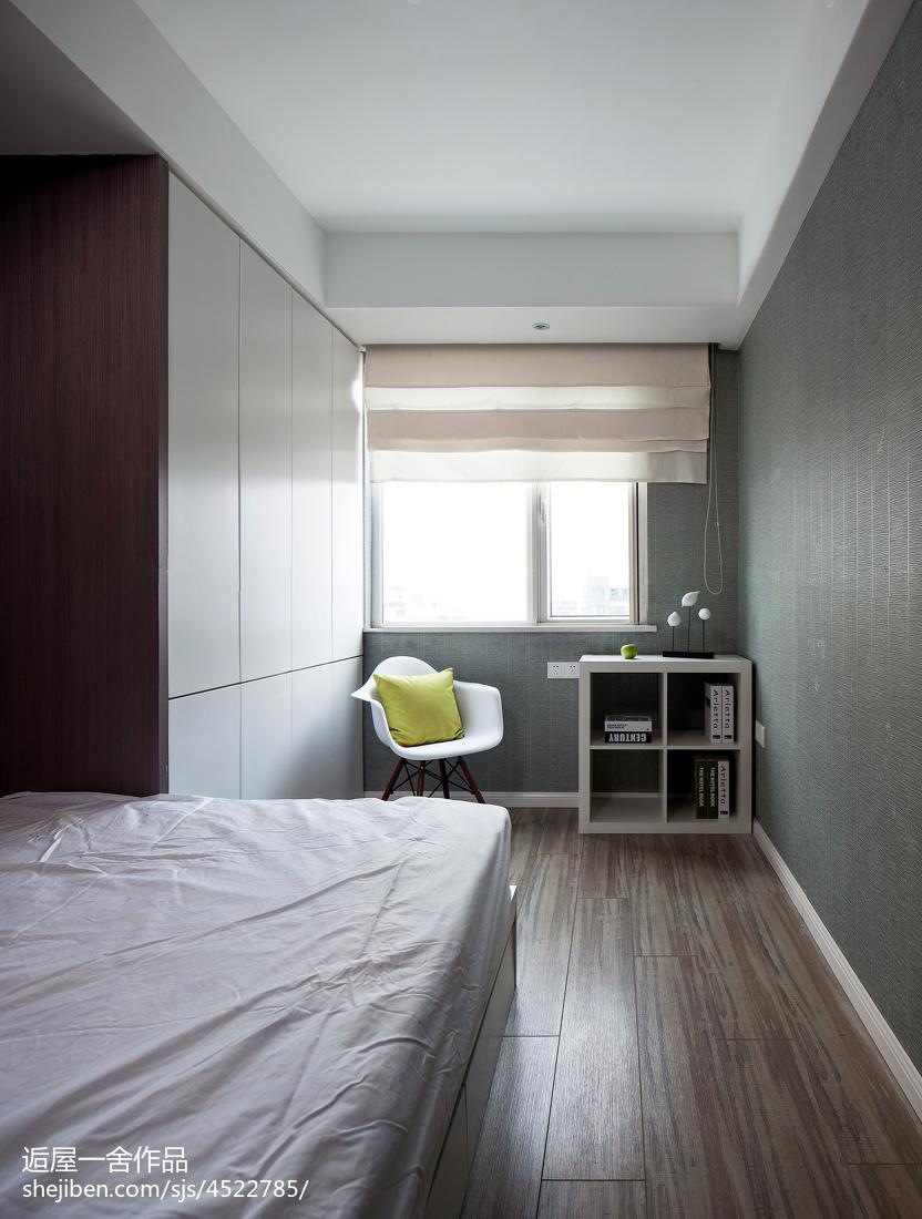 精选面积113平现代四居卧室实景图