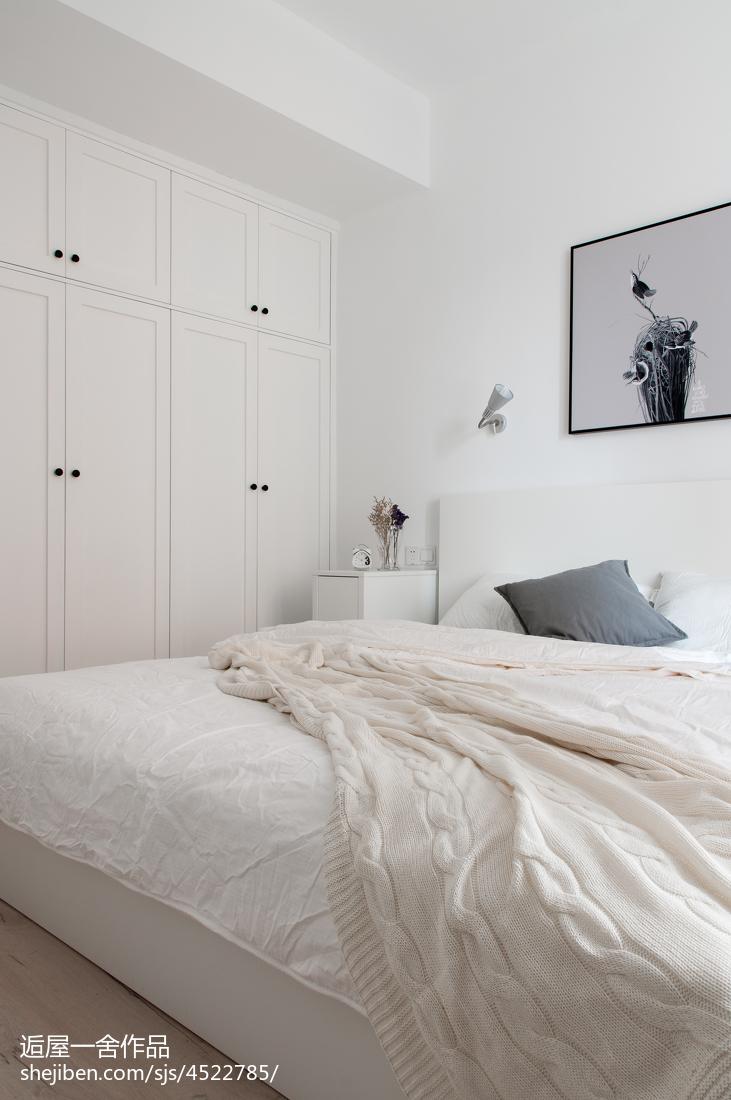 精选面积84平小户型卧室欧式欣赏图片大全