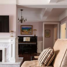 精美123平米四居客厅美式装修图