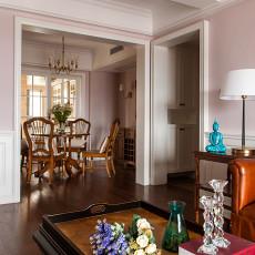 精选面积141平美式四居餐厅装修实景图片欣赏