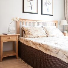 精美123平美式三居卧室效果图片大全