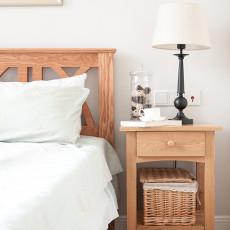 质朴102平美式三居卧室装饰图片
