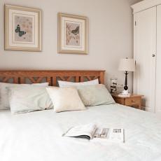 优美92平美式三居卧室效果图