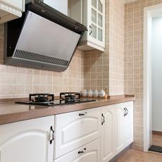 质朴123平美式三居厨房装修设计图