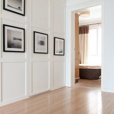 2019130平美式三居卧室装修效果图