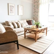 精致100平美式三居客厅装修效果图