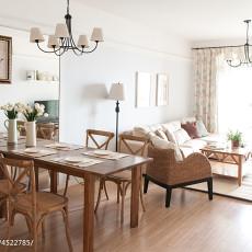 优雅118平美式三居客厅装饰美图