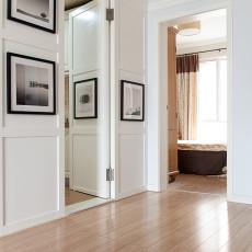 精选面积101平美式三居卧室装修实景图片大全