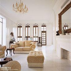 温馨948平欧式别墅客厅装修美图