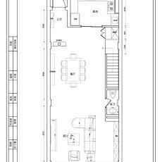 精选111平米现代复式客厅装修实景图片欣赏