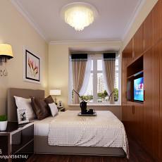 热门108平米三居卧室欧式装修图片大全